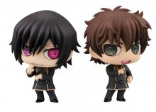 Code Geass Chimimega Buddy Series Figure 2-Pack Lelouch & Suzaku