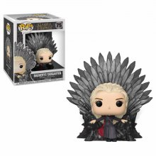 Game of Thrones POP! Deluxe Vinylová Figurka Daenerys on Iron Th