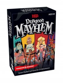 Dungeons & Dragons karetní hra Dungeon Mayhem english