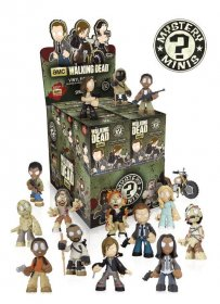The Walking Dead Mystery mini figurky 6 cm Series 4 Display (12)