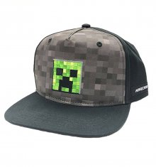 Minecraft Snapback čepice Creeper Inside