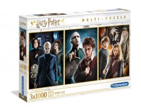 Harry Potter Puzzles 3-Pack Characters