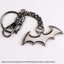 Batman Metal klíčenka Black Logo