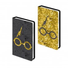 Harry Potter Sequin poznámkový blok A5 Harry