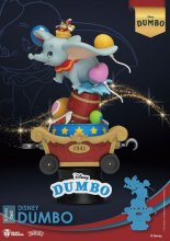 Disney Classic Animation Series D-Stage PVC Diorama Dumbo 15 cm