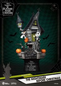 Nightmare before Christmas D-Stage PVC Diorama Jack's Haunted Ho