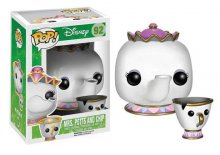 Beauty and the Beast POP! Vinylová Figurka Mrs. Potts and Chip 1