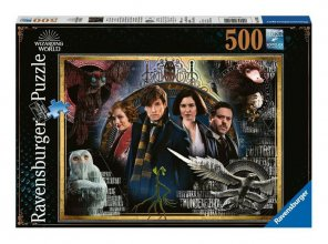 Fantastic Beasts skládací puzzle The Crimes of Grindelwald (500