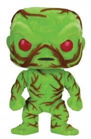 DC Comics POP! Heroes Vinyl Figure Swamp Thing (Flocked & Scente