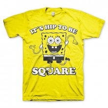 Pánské triko SpongeBob It´s Hip To Be Square