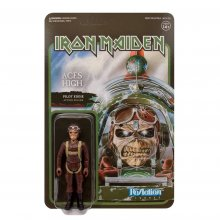 Iron Maiden ReAction Action Figure Aces High (Pilot Eddie) 10 cm