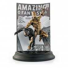 Marvel Pewter Collectible Statues Regular & Gilt Spider-Man Limi
