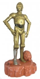 Star Wars Garden Ornament Coloured C-3PO 42 cm
