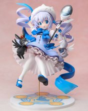 Is the Order a Rabbit PVC Socha 1/7 Mahou Shoujo Chino 21 cm