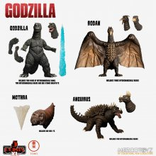 Godzilla: Destroy All Monsters 5 Points XL Akční Figurky Deluxe