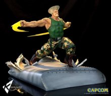 Street Fighter War Heroes Diorama 1/6 Guile 42 cm
