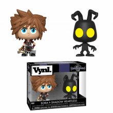 Kingdom Hearts 3 VYNL Vinyl Figures 2-Pack Sora & Heartless 10 c
