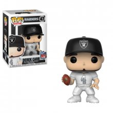 NFL POP! Football Vinyl Figure Derek Carr (Raiders Color Rush) 9