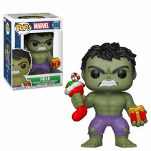Marvel Comics POP! Marvel Holiday Vinyl Bobble-Head Hulk (Stocki