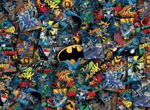 DC Comics Impossible skládací puzzle Batman (1000 pieces)