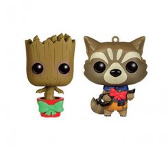 Guardians of the Galaxy Mini Wacky Wobblers Bobble-Head 2-Pack X