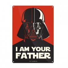 Star Wars Tin Sign I Am Your Father 21 x 15 cm