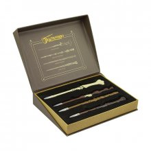 Harry Potter Wand Pen Set in Olivanders Box Collector's Edition