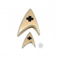 Star Trek Discovery Enterprise Badge & sada odznaků Medical