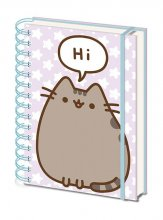 Pusheen Wiro Notebook A5 Pusheen Says Hi