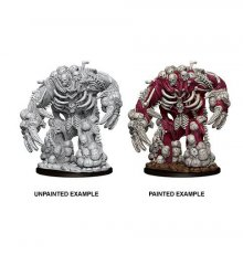Pathfinder Battles Deep Cuts Unpainted Miniature Bone Golem Case