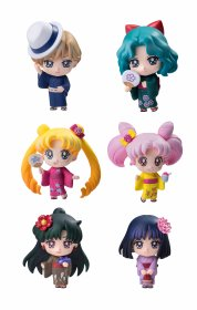 Sailor Moon Petit Chara Trading Figure 6-Pack Soldiers of the Ou