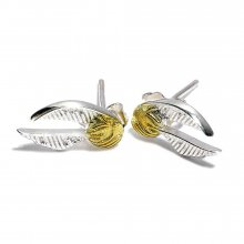Harry Potter Naušnice Golden Snitch (silver plated)