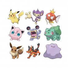Pokémon Battle mini figurky 3-Packs 5-7 cm Wave 3 prodej v sadě