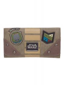 Star Wars Rogue One Wallet Rebel Patches