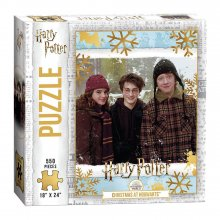 Harry Potter skládací puzzle Christmas at Bradavice (550 pieces)