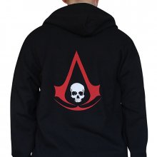Mikina Assassins Creed IV Black Flag Pirate Crest