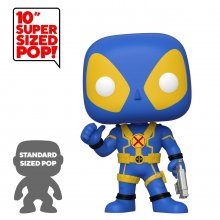 Deadpool Super Sized POP! Vinylová Figurka Thumb Up Blue Deadpoo