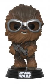 Star Wars Solo POP! Movies Vinyl Bobble-Head Chewbacca with Gogg
