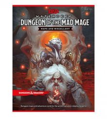 Dungeons & Dragons RPG Waterdeep: Dungeon of the Mad Mage - Maps