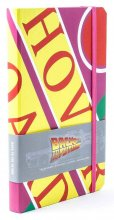 Back to the Future Hardcover Ruled Journal Hover Board