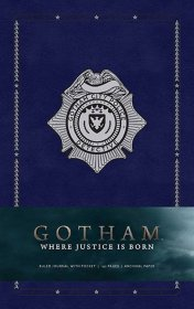 Gotham Hardcover Ruled Journal Where Justice Is Born