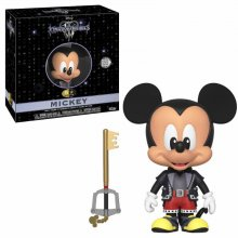 Kingdom Hearts 3 5-Star Vinylová Figurka Mickey 8 cm