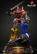 Power Rangers Socha 1/4 Megazord Battle Damage Version 76 cm