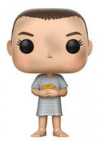 Stranger Things POP! TV Vinyl Figure Eleven (Hospital Gown) 9 cm