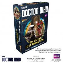 Doctor Who Exterminate! Miniatures Maximum Extermination! *Engli