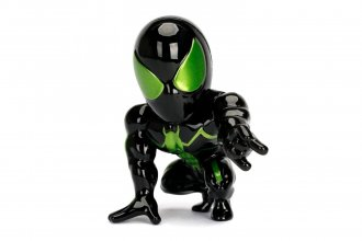 Marvel Metals Diecast mini figurka Stealth Spider-Man Green 10 c