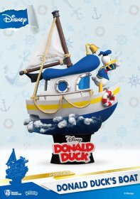 Disney Summer Series D-Stage PVC Diorama Donald Duck's Boat 15 c