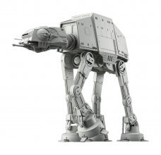 Star Wars plastový model kit 1/144 AT-AT