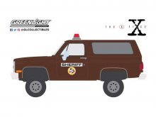 The X-Files kovový model 1/64 1981 Chevrolet K-5 Blazer Sheriff