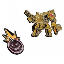 Borderlands Collectors Pins 2-Pack Iron Bear & Borderlands Smile